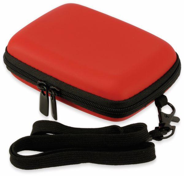 Kameratasche, CARAT, HC20EVA, Hardcase rot - Produktbild 3