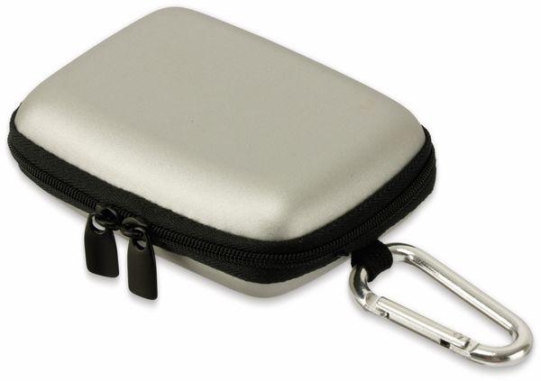 Kameratasche, CARAT, HC20EVA, Hardcase silber