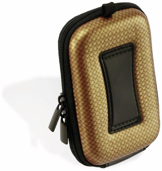 Kameratasche, CARAT, HC10EVA, Hardcase, carbon/gold - Produktbild 2
