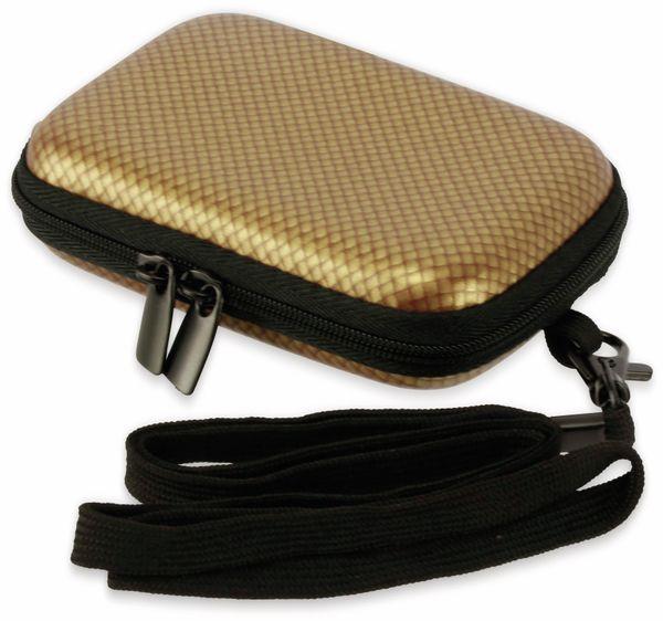 Kameratasche, CARAT, HC10EVA, Hardcase, carbon/gold - Produktbild 3