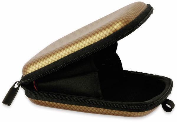Kameratasche, CARAT, HC10EVA, Hardcase, carbon/gold - Produktbild 4