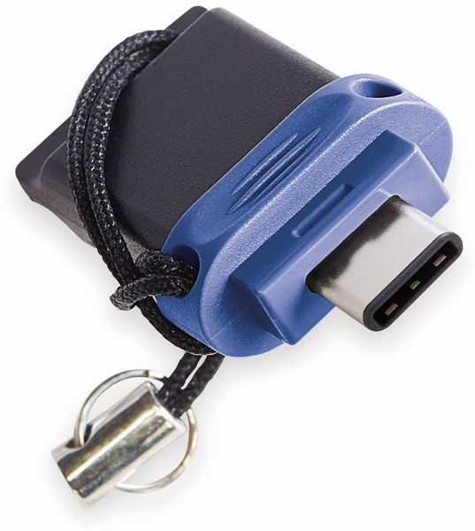 USB 3.0 OTG Stick VERBATIM Typ A-C, Dual Drive, 64 GB