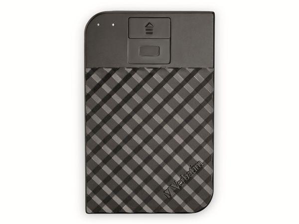 USB3.0 HDD VERBATIM Secure Portable, Fingerprint, 1 TB, schwarz