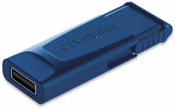 USB 2.0 Stick VERBATIM Store N Go Slider, 32GB, rot/blau, 2er Pack - Produktbild 4