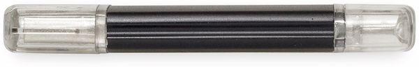 USB3.0 Stick VERICO Hybrid Type C, 128 GB, schwarz - Produktbild 3
