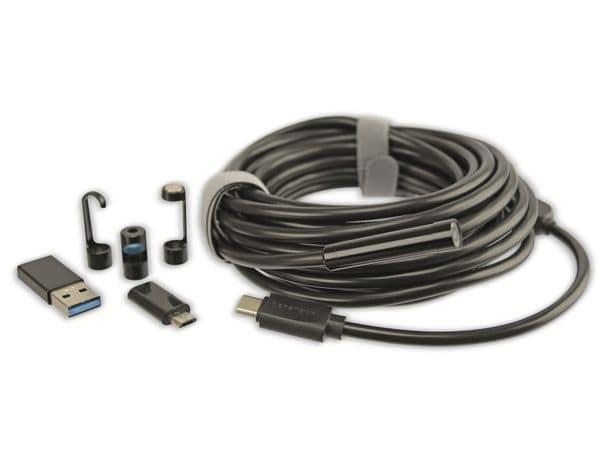 USB Endoskop-Kamera PremiumBlue EK-86, 1600x1200, 5 m - Produktbild 2