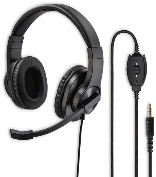 Headset HAMA HS-P350, Stereo, schwarz