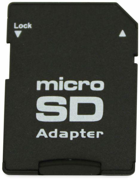 microSDHC Speicherkarte, 8 GB, SanDisk, Class 4, mit Adapter - Produktbild 2
