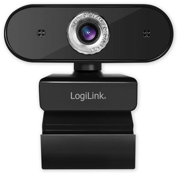 Webcam LOGILINK UA0368, 1280x720, 30 fps, 16:9 - Produktbild 2