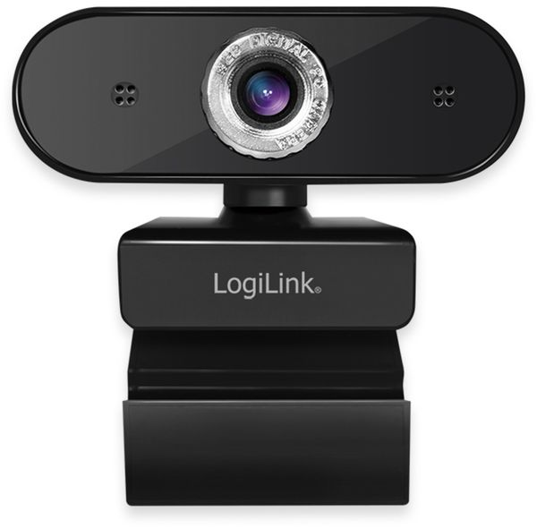 Webcam LOGILINK UA0371, 1980x1080, 30fps, 16:9 - Produktbild 2