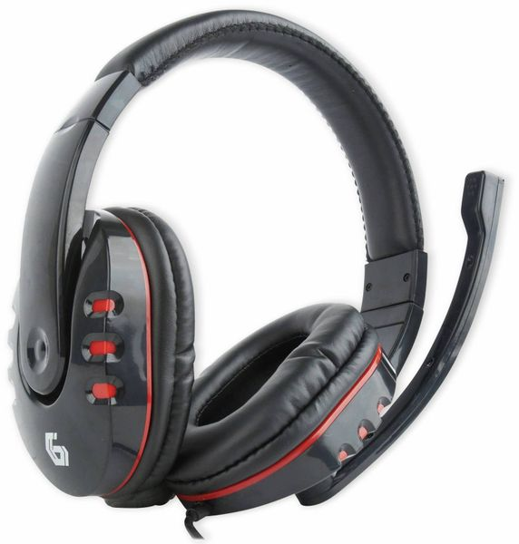 Headset GEMBIRD GHS-402, schwarz