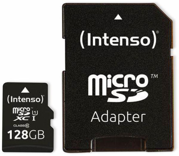 MicroSDXC Card INTENSO 3423491, UHS-I, 128 GB