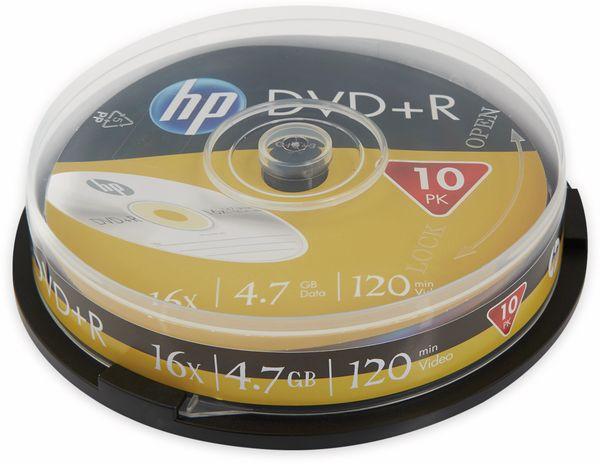 DVD+R HP 4.7GB, 120Min, 16x, Cakebox, 10 CDs