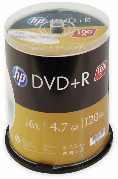 DVD+R HP 4.7GB, 120Min, 16x, Cakebox, 100 CDs