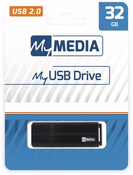 USB-Stick MYMEDIA, 32 GB, USB 2.0