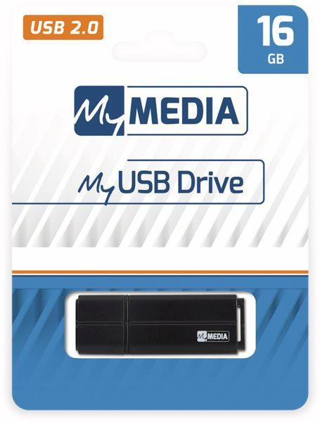 USB-Stick MYMEDIA, 16 GB, USB 2.0