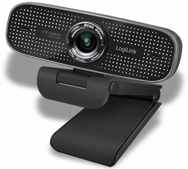 Webcam LOGILINK LL1, 1920x1080, 30fps, schwarz