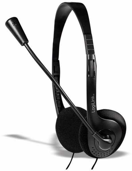 Headset LOGILINK HS0052, 1,8 m
