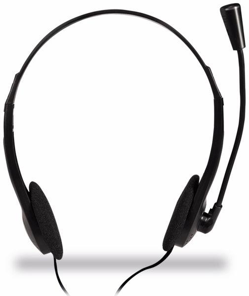 Headset LOGILINK HS0052, 1,8 m - Produktbild 2