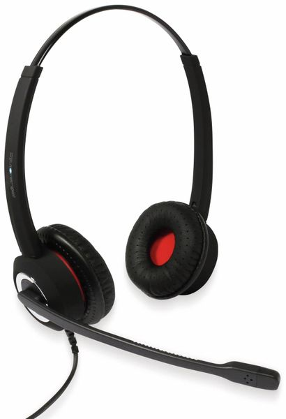Headset PLUSONIC 6337-10.2P_BBB, USB, Binaural, BBB kompatibel