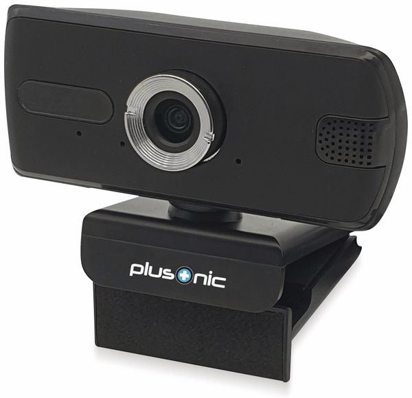 Webcam PLUSONIC PSH037v2, USB, FULL HD