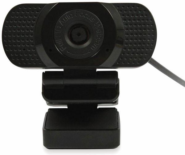 Webcam PLUSONIC PSUS20AT, USB, Full HD