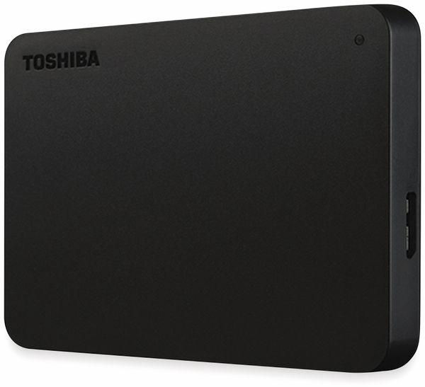 "USB Typ-C HDD TOSHIBA Canvio, 1 TB, 2,5"", schwarz - Produktbild 2"