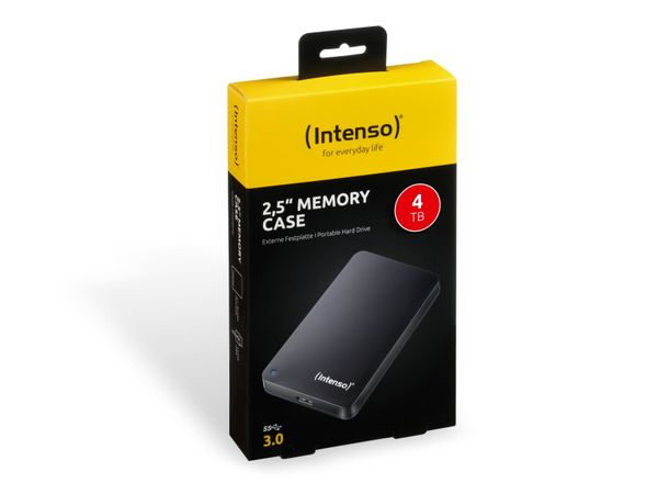 "USB 3.0-HDD INTENSO Memory Case, 5 TB, 2,5"", schwarz - Produktbild 2"