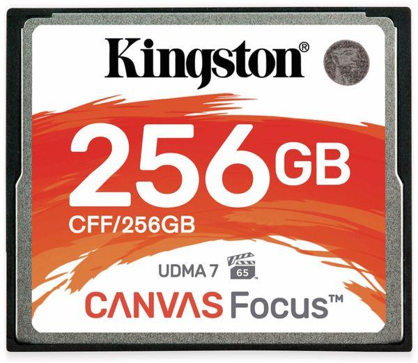 CompactFlash-Speicherkarte KINGSTON, Canvas Fokus, 256 GB