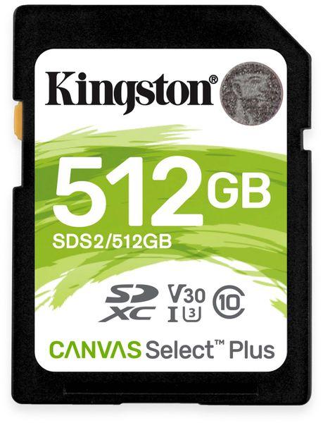 SD-Card KINGSTON Canvas Select Plus, 512 GB