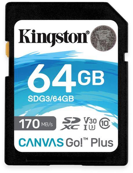 SD-Card KINGSTON Canvas GO!, 64 GB