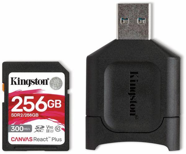 SD-Card KINGSTON Canvas React Plus, 256 GB
