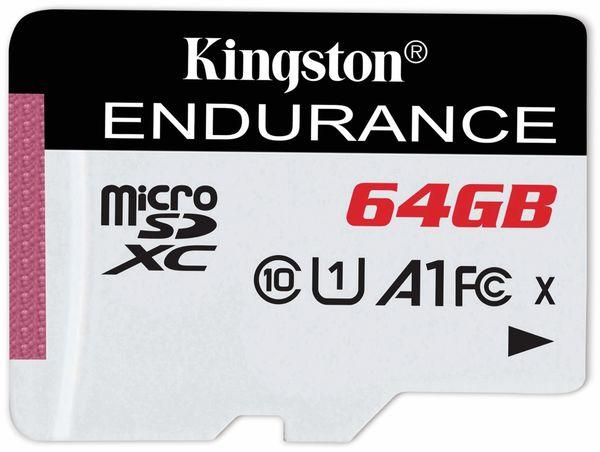 MicroSD-Card KINGSTON High Endurance, 64 GB