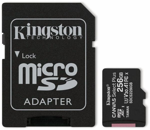 MicroSD-Card KINGSTON Canvas Select Plus, 256 GB