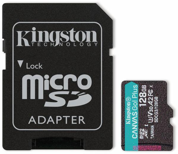MicroSD-Card KINGSTON Canvas GO! Plus, 128 GB