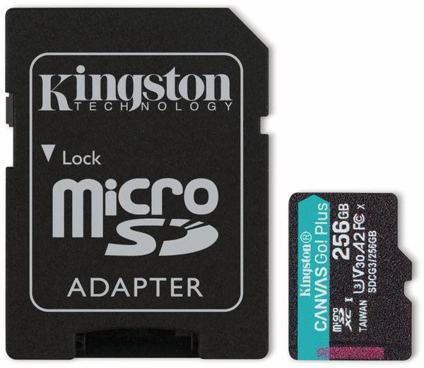 MicroSD-Card KINGSTON Canvas GO! Plus, 256 GB