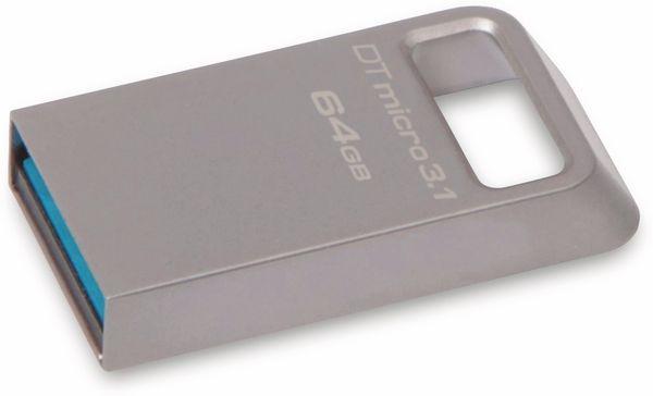 USB-Stick KINGSTON DataTraveler Micro, USB 3.1, 64 GB