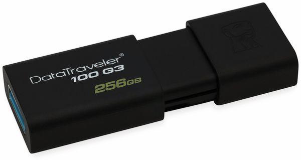 USB-Stick KINGSTON DataTraveler 100 G3, USB 3.0, 256 GB