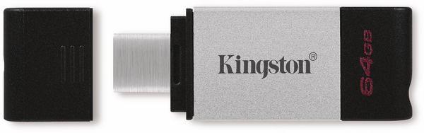 USB-Stick KINGSTON DataTraveler 80, USB-C 3.2, 64 GB