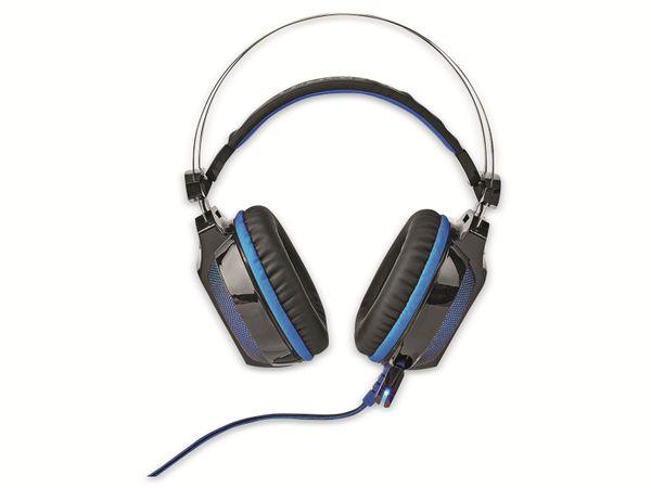 Headset NEDIS GHST400BK, USB, 7.1