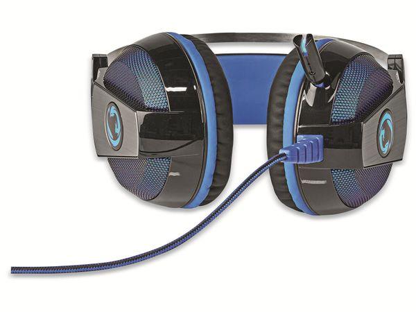Headset NEDIS GHST400BK, USB, 7.1 - Produktbild 2