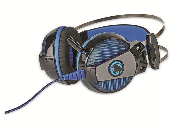 Headset NEDIS GHST400BK, USB, 7.1 - Produktbild 4