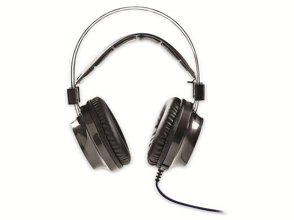 Headset NEDIS GHST400BK