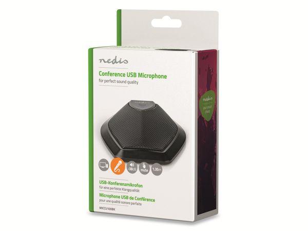 Konferenzmikrofon NEDIS MICCU100BK, USB - Produktbild 3