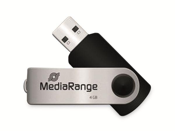 USB-Stick MEDIARANGE MR907, USB 2.0, 4 GB