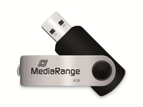 USB-Stick MEDIARANGE MR908, USB 2.0, 8 GB
