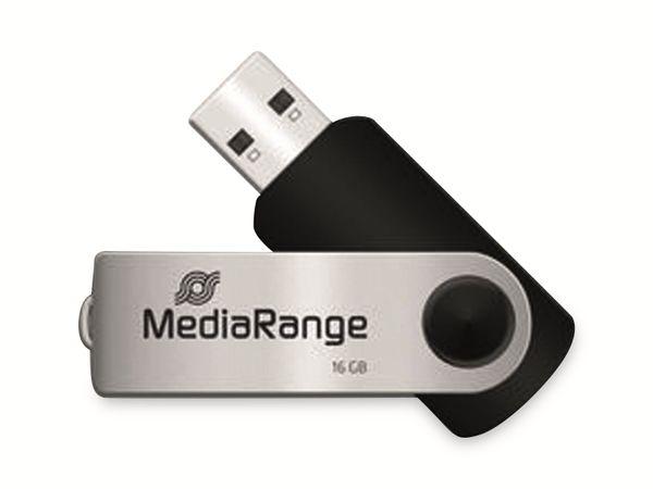 USB-Stick MEDIARANGE MR910, USB 2.0, 16 GB