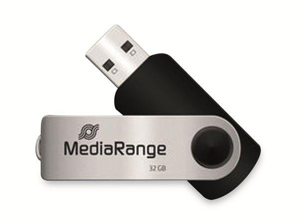 USB-Stick MEDIARANGE MR911, USB 2.0, 32 GB