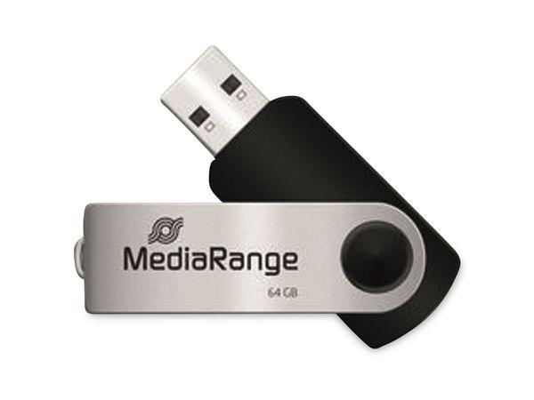 USB-Stick MEDIARANGE MR912, USB 2.0, 64 GB