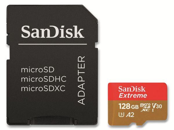 microSDXC Speicherkarte SANDISK Ultra, Extreme, 128 GB, UHS-I U3